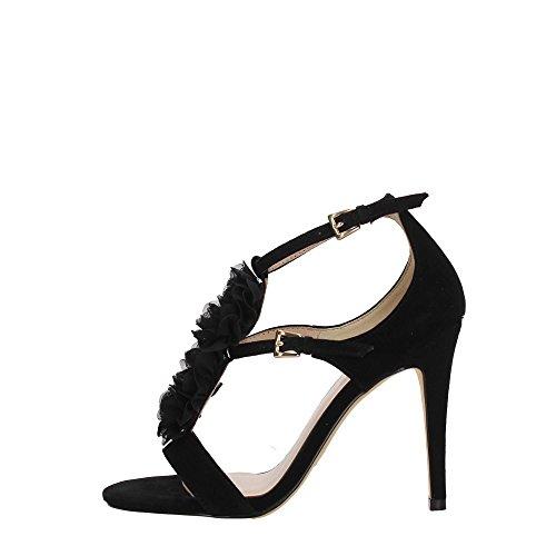 Liu Jo Shoes S17019 P0021 Sandale Femme Noir