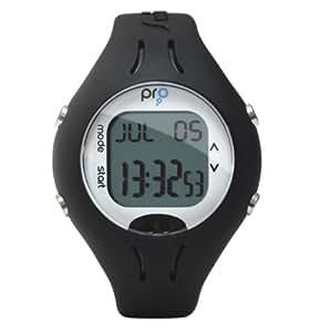 Swimovate Pro Poolmate Compteur de natation (Noir) - ensemble de 2 boîte (1 avec la montre et 1 avec le Support)