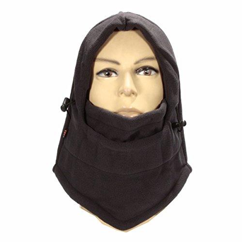 Preisvergleich Produktbild JenNiFer Motorrad Full Face Maske Cap Ski Winter Warm Windproof Balaclava Cover Neck Hut Hut Hut - Schwarz