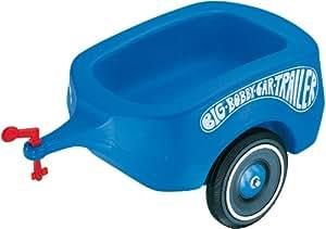 big 01311 big bobby car trailer blau spielzeug. Black Bedroom Furniture Sets. Home Design Ideas
