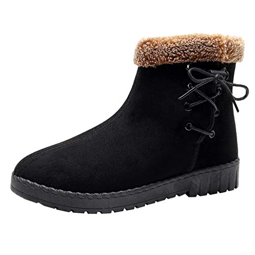 MOTOCO Women Over The Knee Boots Winter Warm Knee Elastic Boots Wedge High Boots Plus Size Wedge Shoes