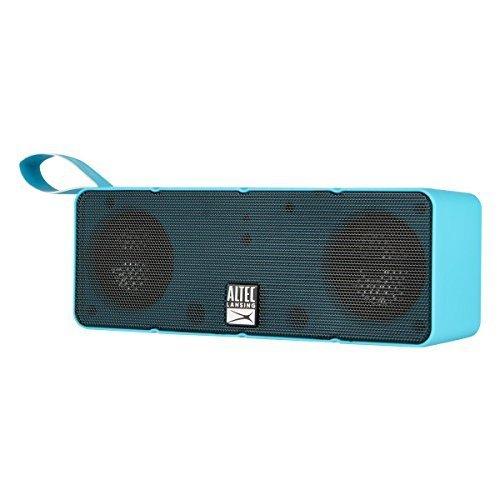 Aqua Blue : Altec Lansing IMW140-AB Dual Motion Bluetooth Speaker, Aqua Blue
