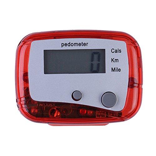 Trendyest Schrittzähler für Wanderungen, Armband, Multifunktions-Schrittzähler, Distanz, Kalorien, Passometer, D -