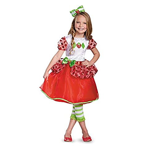 Deluxe Strawberry Shortcake Costumes - Disguise Strawberry Shortcake Deluxe Toddler