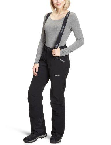 Rücken-knie Hoch Stiefel (Bergans Damen Hose Oppdal Insulated Lady pants, Black, XL, 5023)