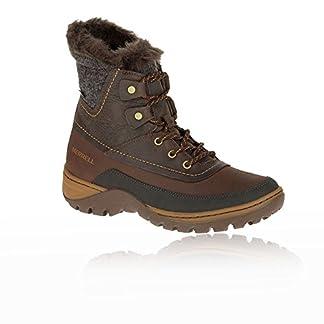 Merrell Women's Sylva Mid Lace Waterproof Snow Boots 4