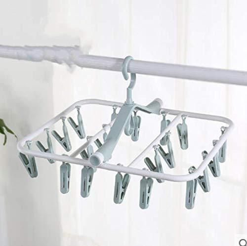 Drying Racks Multi-Clip Adult Folding Plastic Socks Rack Home Multi-Function Children Baby Wind Drying Racks 1Pcs Wise - Wind Sock Kostüm