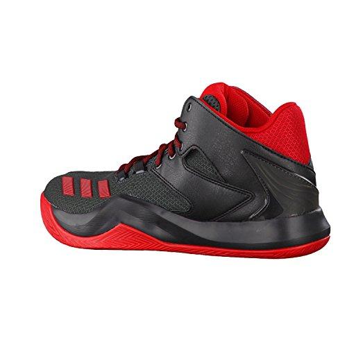 adidas Herren D Rose 773 V Basketballschuhe core black/scarlet/dark grey