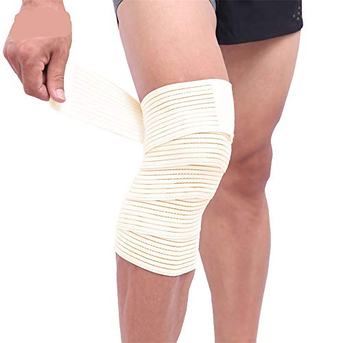 WESYYKniebandage, Knieschoner Elastisch Anti Slip Kniestütze Schmerzlinderung Kompressionsbandage für Damen und Herren Atmungsaktive Kniestütze fur Sport Wandern Joggen