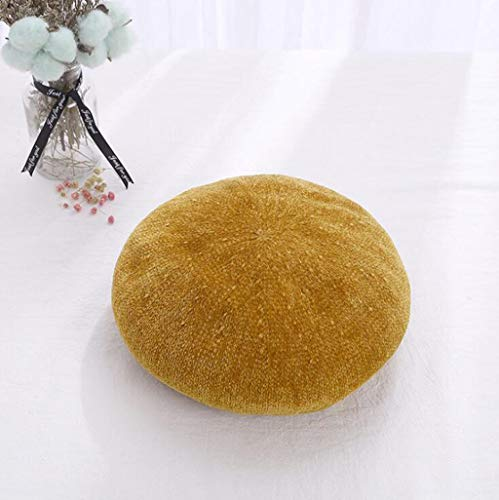 Beret Weibliche Wilde Farbe Kürbis Hat Britischen Retro Casual Painter Hut,Yellow