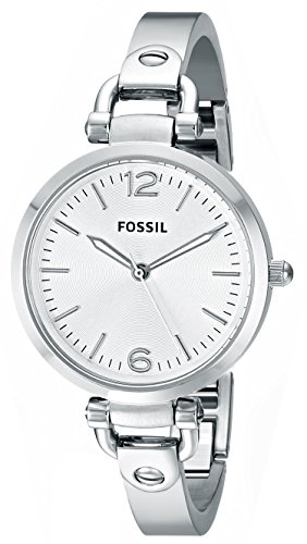Fossil End of Season Georgia Analog Silver Dial Women's Watch - ES3083