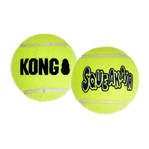 KONG AIR SQUEAKAIR TENNIS BALL 3ST - size XS