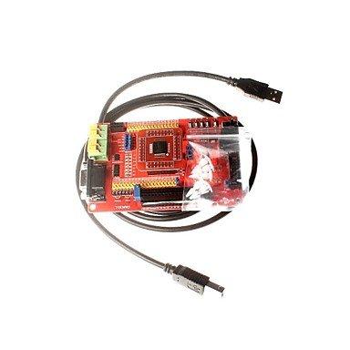 ULIAN Arduimo Accessonries Module/Sensoren MSP430 Development Board MSP430F149 Microcontroller Minimum System Board Core Board Farbdisplay Mit USB Downloader