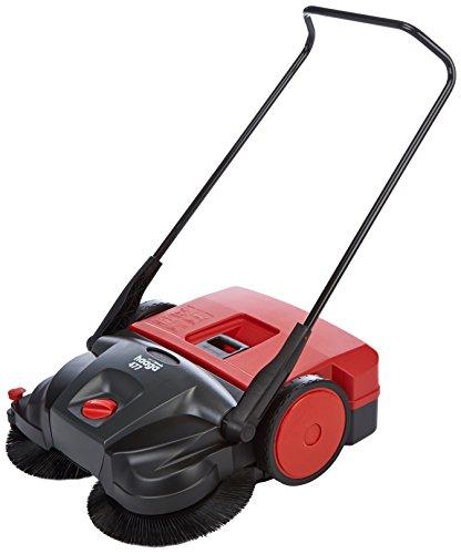 Haaga 477400 Kehrmaschine/Handkehrmaschine 477 Profi | beste Reinigungsleistung im gewerblichen Bereich, für anspruchsvollen Einsatz, egal ob nass, trocken oder grober Schmutz | geeignet ab ca. 1.000 m²