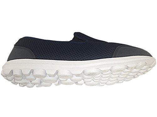 Damen Gehen Schlüpfen Sports Laufen Schuhe Jogging Arbeit Ausbilder Mens Navy