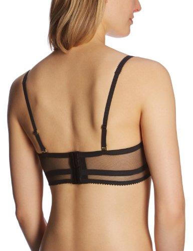 Valisere Damen Unterhemd 10098715 Parfum D`Amour Bustier Schwarz (black 0004)