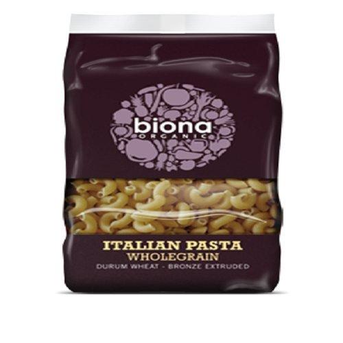 Biona Organic Whole Maccaroni, 500 g