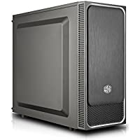 Cooler Master MasterBox E500L Silver - Cajas de ordenador de sobremesa 'ATX, microATX, Mini-ITX, Plateado, Panel lateral sólido' MCB-E500L-KN5N-S02