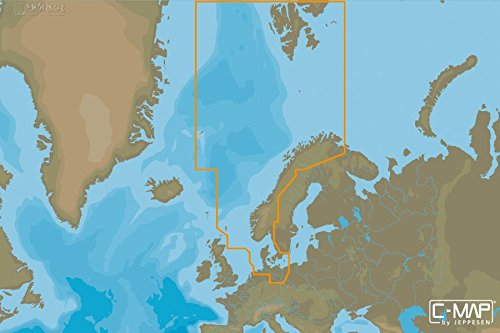 C-MAP - MAX WIDE - North Sea and Denmark - µSD/SD-Karte C-map Karte