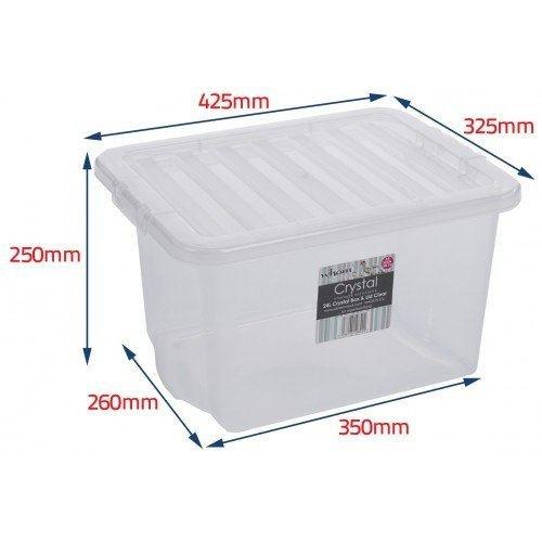 WHAM Aufbewahrungsboxen mit glatter Oberfläche