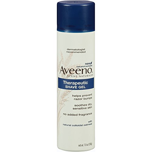 Aveeno Active Naturals Therapeutic Shave Gel -- 7 oz