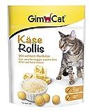 GimCat Käse Rollis – vitaminreicher Katzensnack mit echtem Hartkäse – ohne Zuckerzusatz – 6 Beutel (6 x 140 g)