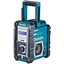 Makita Akku-Radio DMR 112 avec Dab+ et Bluetooth