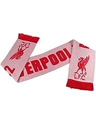 LIVERPOOL FC officiel blanc et rouge ANFIELD HNE 1,892 Echarpe très rare