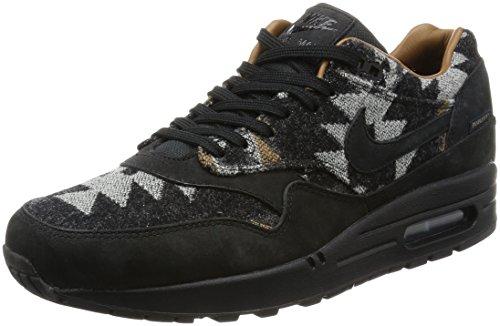 Nike Air Max 1 Pnd Qs, Chaussures de Sport Homme Noir