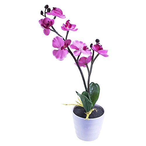 Künstliche Licht Orchidee - 7 LED - Topf