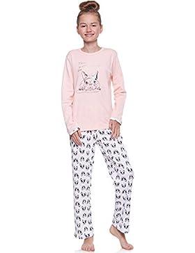 Merry Style Mädchen Schlafanzug 691