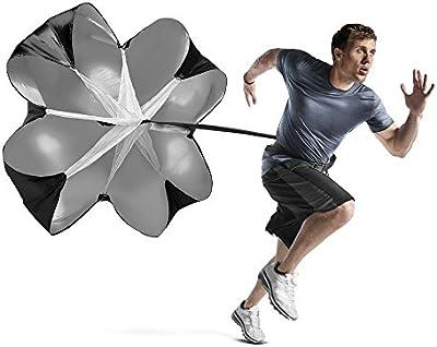 Entrenamiento de velocidad resistencia paracaídas–anera entrenamiento de velocidad paracaídas ayuda a maximizar aceleración y parte superior velocidad a través de resistencia y velocidad de formación