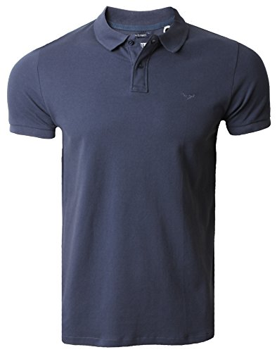 Threadbare Herren Poloshirt Blau - Navy