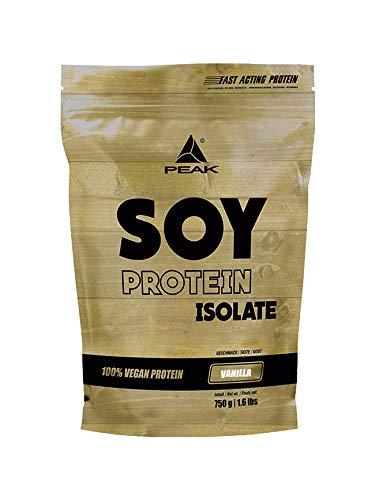 PEAK Soy Protein Isolate Vanilla 750g | NEW DESIGN