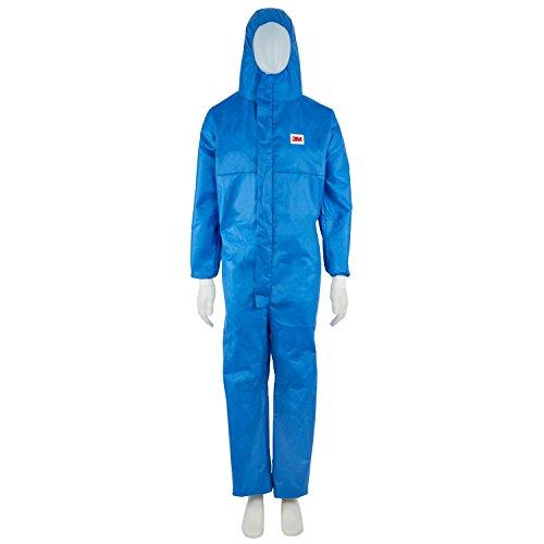Preisvergleich Produktbild 3M Schutzanzug Größe M, 1 Stück, blau, 4532+BM