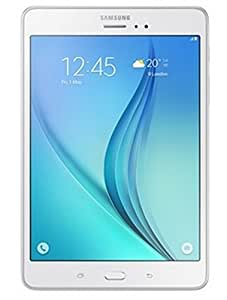 Samsung Tab A SM-T355YZWA Tablet (8 inch, 16GB, Wi-Fi+LTE+Voice Calling),Sandy White