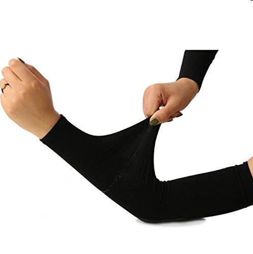 UChic 1 Paar/2 stücke UV Schutz Kühlarm Ärmel für Männer Frauen Sunblock Kühler Schutzhandschuhe Sport Laufen Golf Radfahren Basketball Fahren Angeln Langen Arm Abdeckung Ärmel
