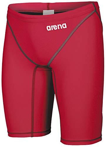 arena Herren Wettkampfhose Jammer Powerskin ST 2.0 (Schnelltrocknend, Perfekte Kompression, Weniger Widerstand), Red (45), 4
