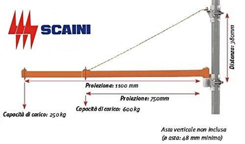 Montacarichi verticali