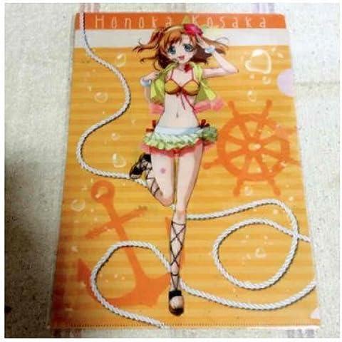 Love Live! Sega limited clear file Minoru Kosaka Honoka-Costume intero da donna