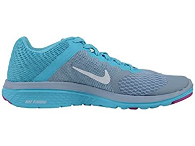 Nike Women s FS Lite Run 3 Running Shoe Blue Grey/Gamma Blue/Hyper Violet/White 6.5 B(M) US