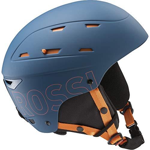 Rossignol Reply impacts Casque Ski, Homme, Homme, RKHH203, Bleu/Orange, L/XL (59-63)