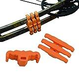Archery Bow Limbs Stabilizer Compound Bow Split Limb Vibration Damper Shock Absorber