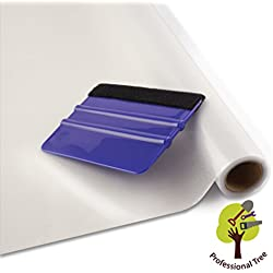 ProfessionalTree® Película para ventana para protección visual, película con efecto cristal mate. De 45x200 cm - Película autoadhesiva - Con alisador (1 rollo)