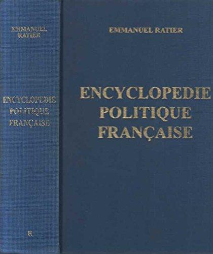 Encyclopédie politique française, tome 2