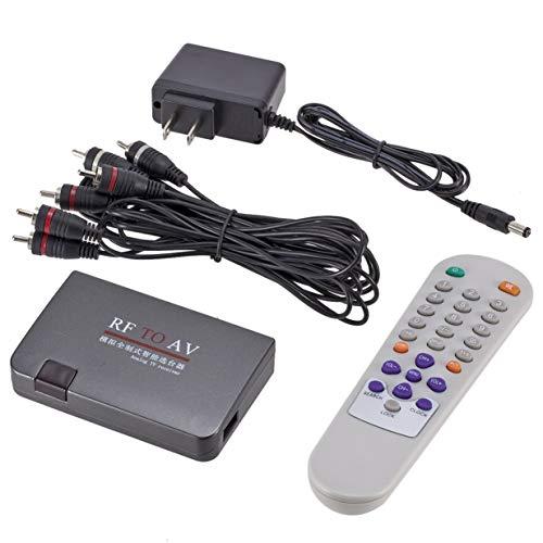 Banbie8409 RF Receiver AV-Kabel Netzadapter an AV, HF Für Analog-TV-Receiver-Konverter Modulator Adapter USB mit Video-Kabel AV Low-voltage-tv