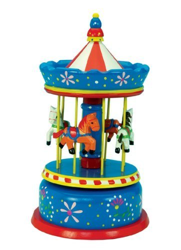 MusicBox Kingdom 44039 Grand Carousel Music Box Playing