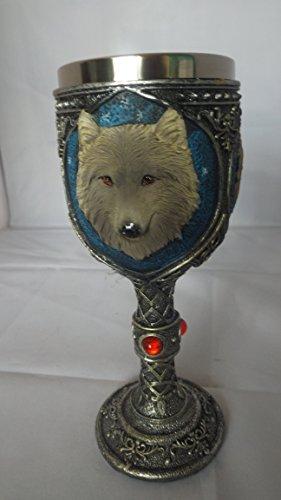 Wicca Halloween 3D Wolf Kelch Weinkelch (Halloween Und Wicca)