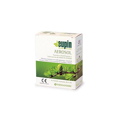 Eupin Aerosol 10 fialoidi monouso da 5 ml