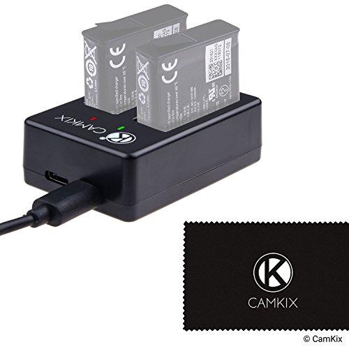 Cargador Dual Pro de CamKix para GoPro HERO 5 Baterias...
